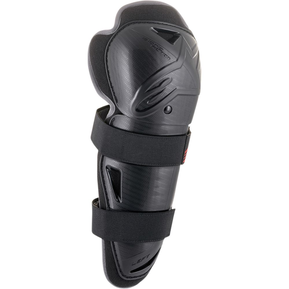 ALPINESTARS Bionic Action Youth Kinder Motocross Knie Protektoren schwarz