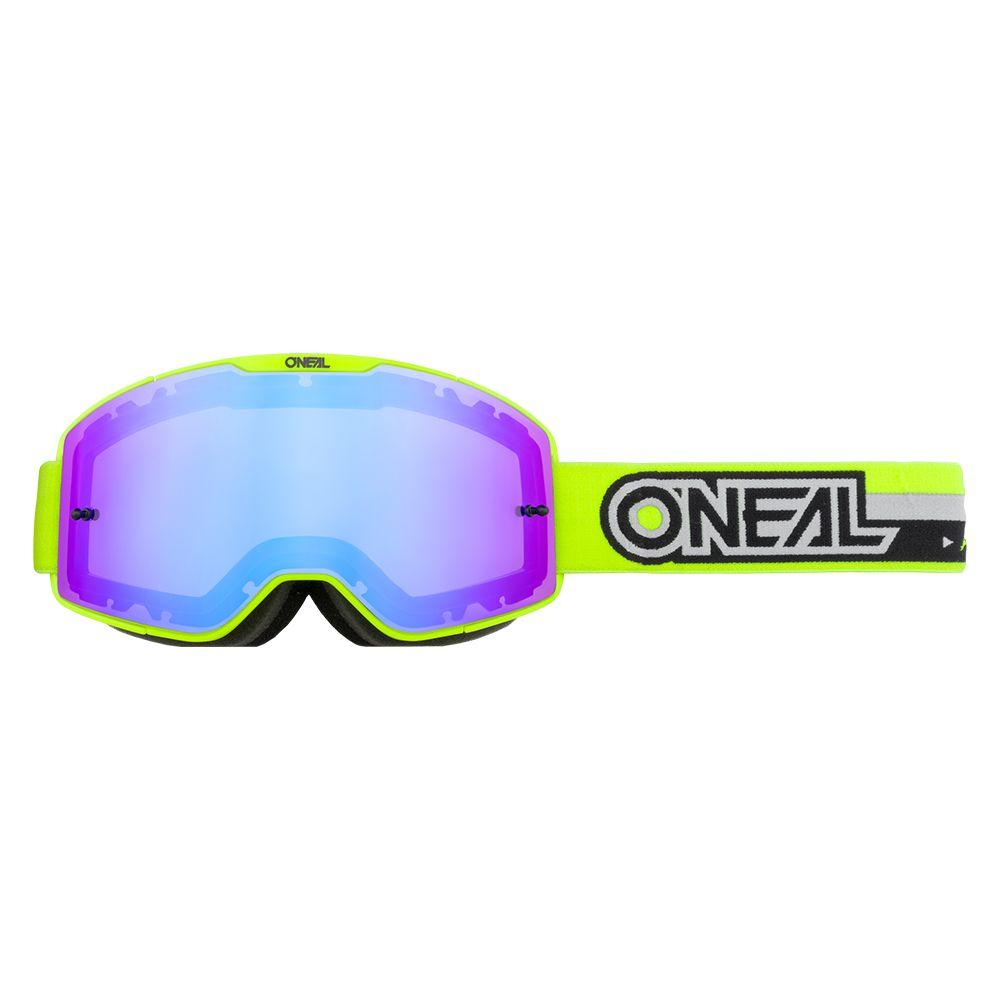 ONEAL B-20 Proxy MX MTB Brille gelb schwarz blau