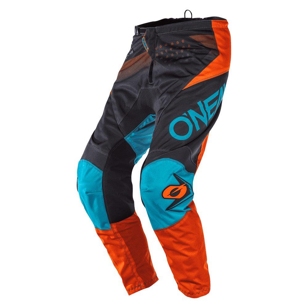 ONEAL Element Factor MX Hose grau orange blau