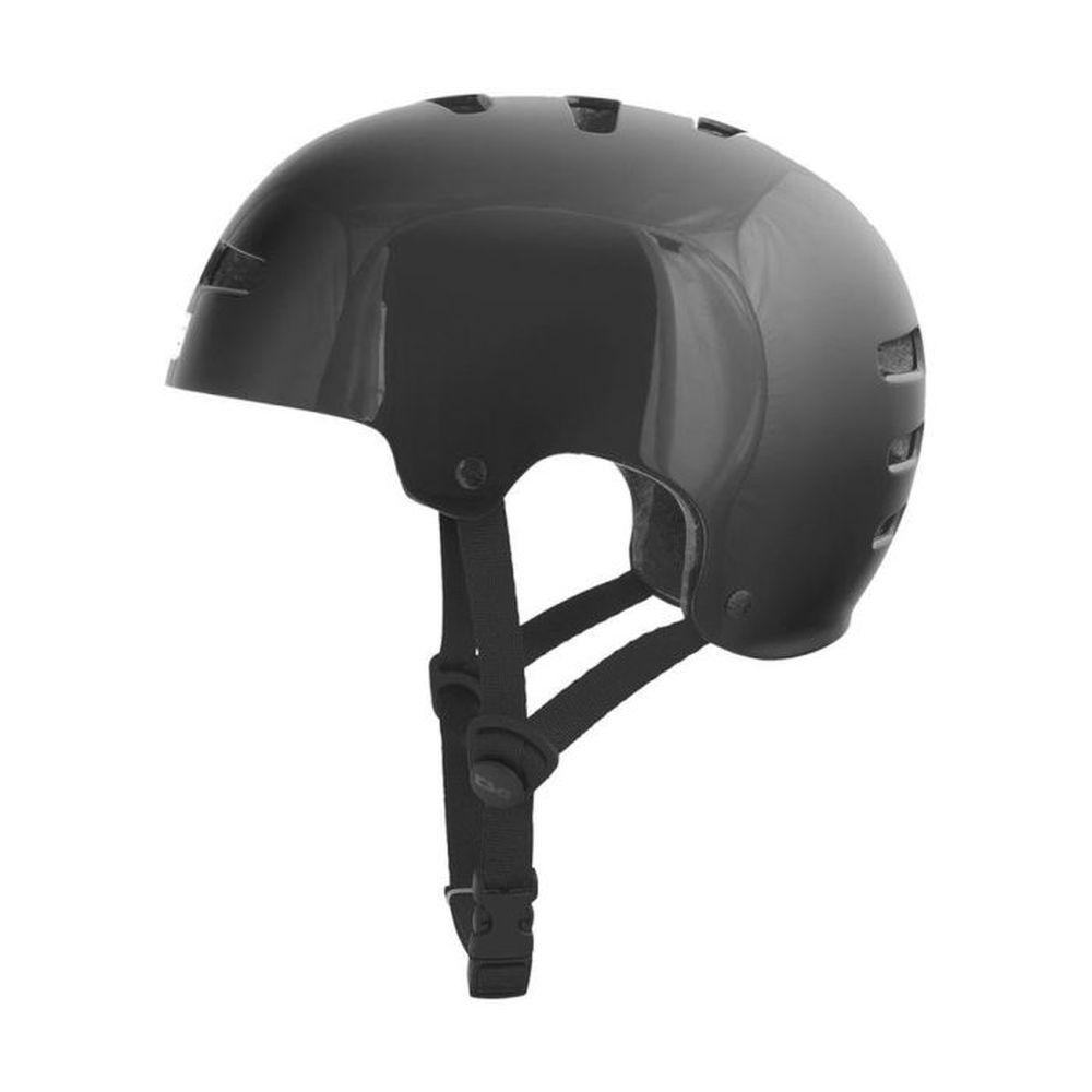TSG Evolution Solid Colors Kids Kinder MTB Helm schwarz