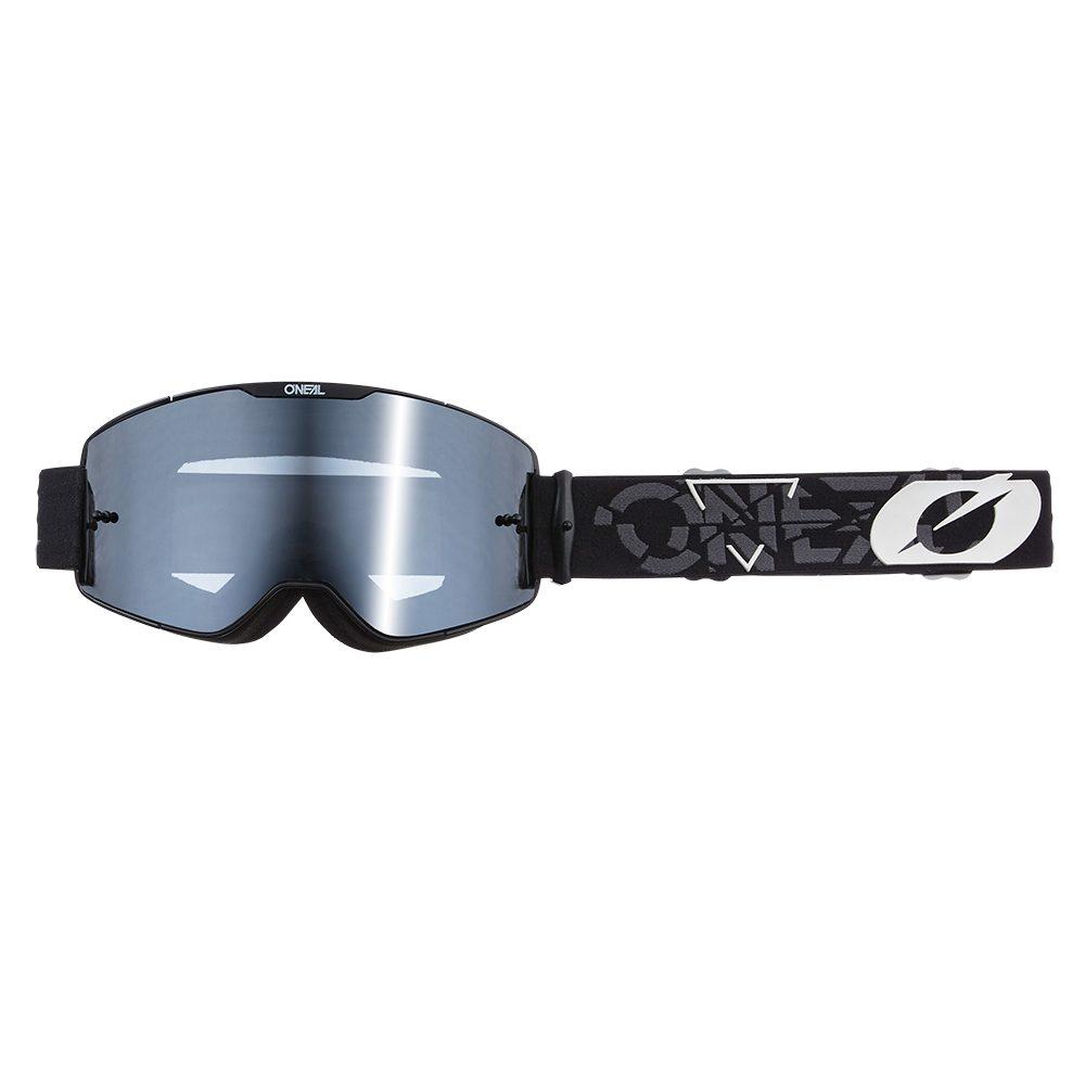 ONEAL B-20 Strain V.22 MX MTB Brille schwarz weiss grau