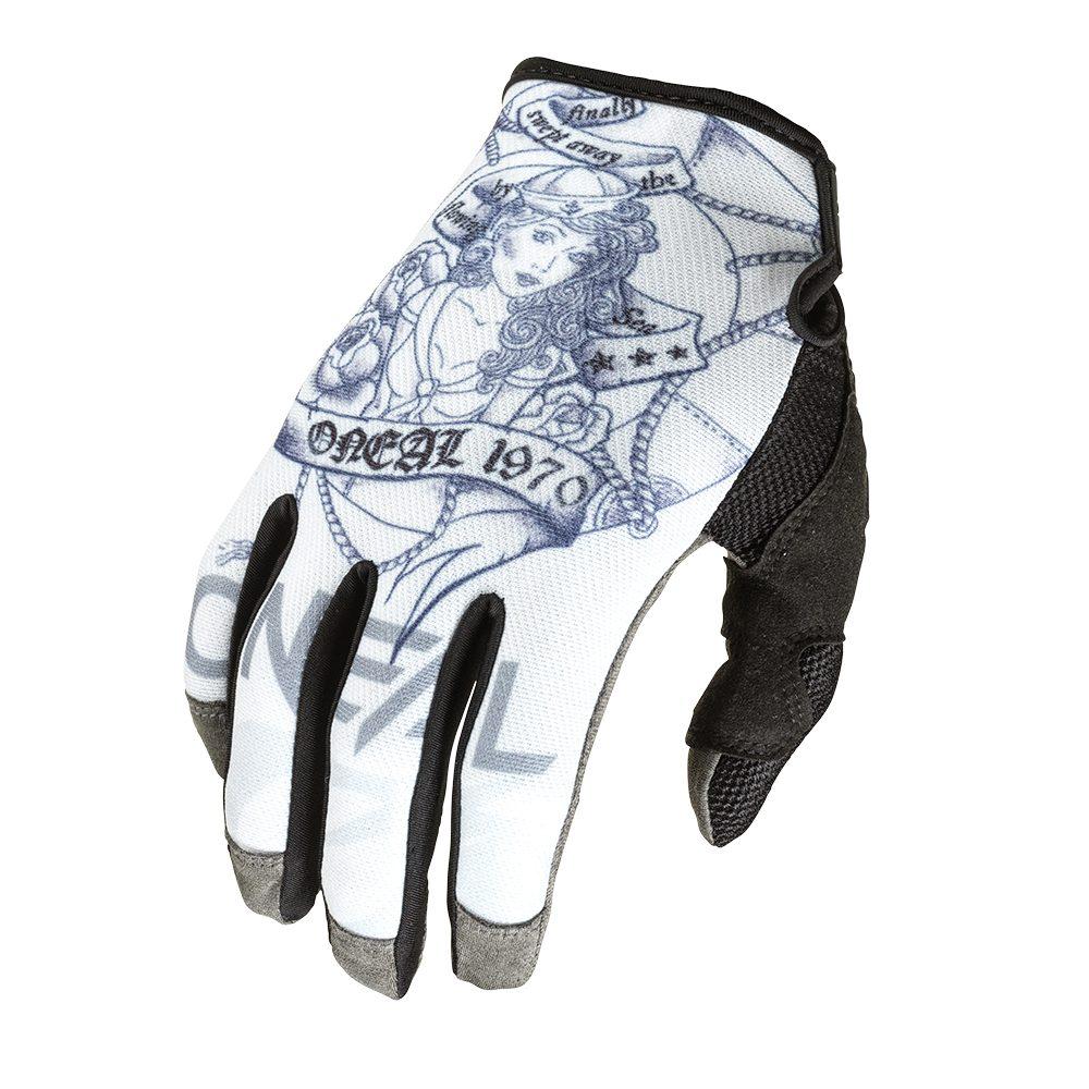 ONEAL Mayhem Sailor V.22 MX MTB Handschuh weiss