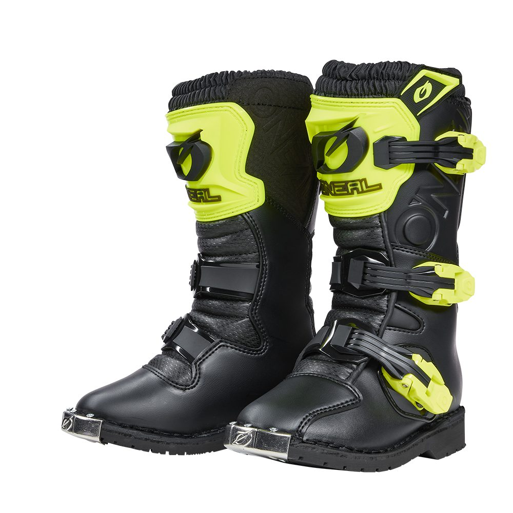 ONEAL Rider Pro Youth Boot Kinder Motocross Stiefel gelb
