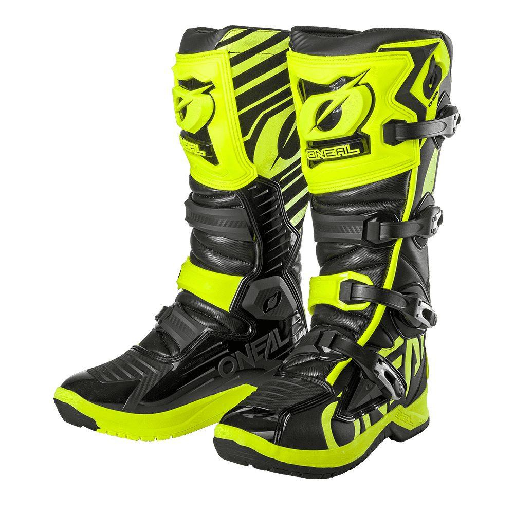 ONEAL RMX Boot EU Motocross Stiefel schwarz gelb