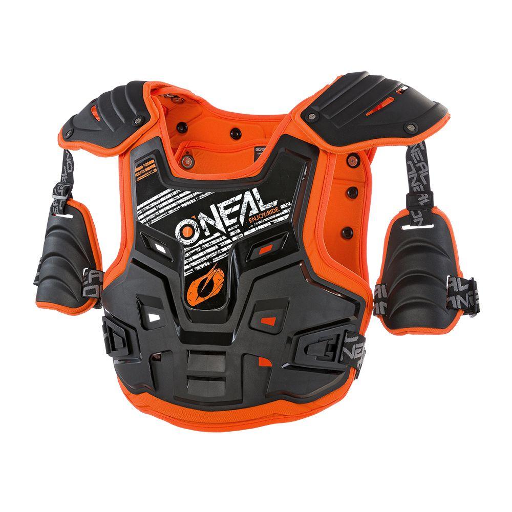 ONEAL PXR Stone Shield MX Brustpanzer schwarz orange