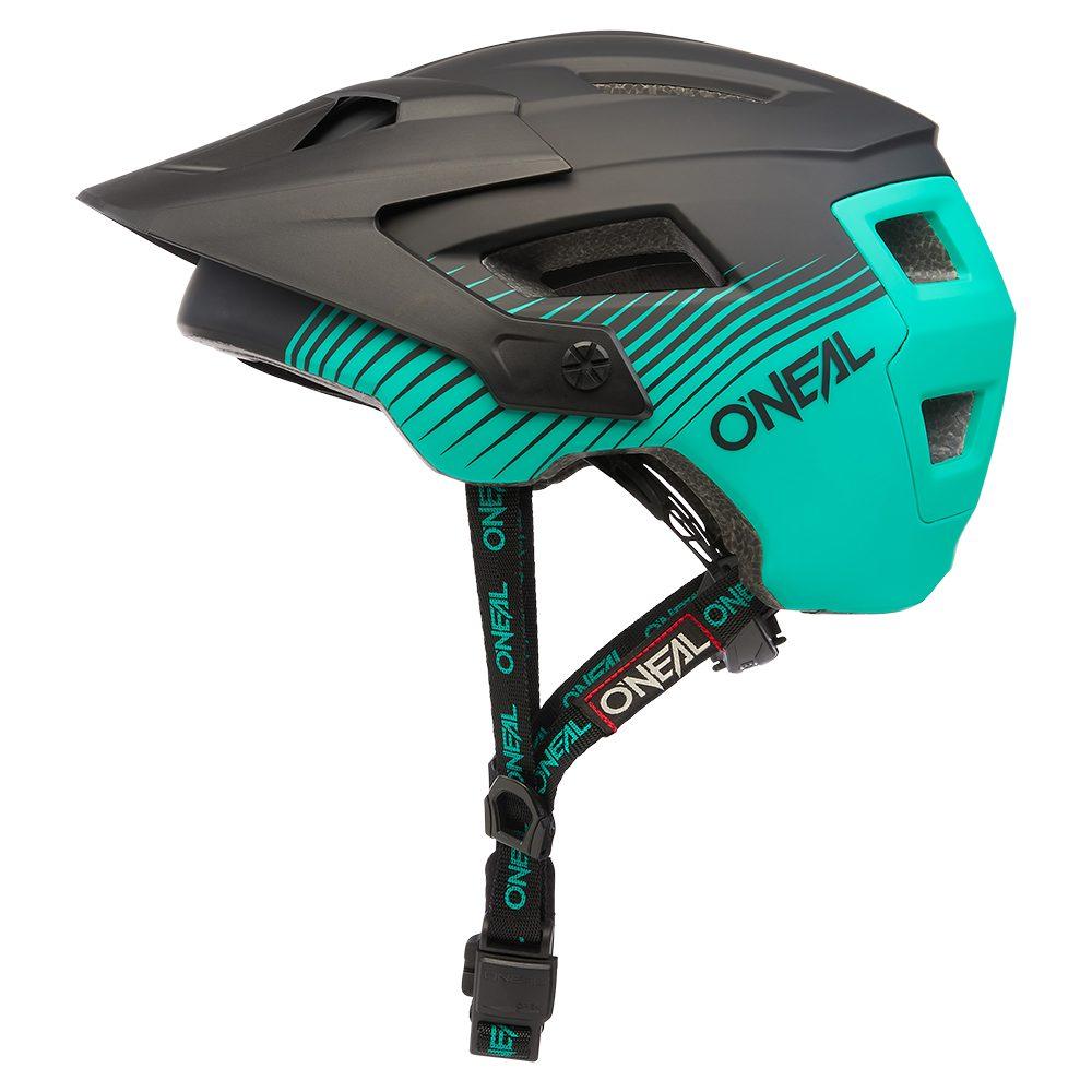ONEAL Defender Grill V.22 MTB Helm schwarz grün