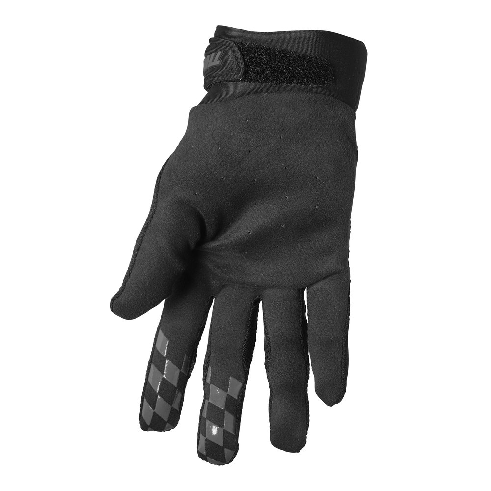 THOR Draft Motocross Handschuhe schwarz grau