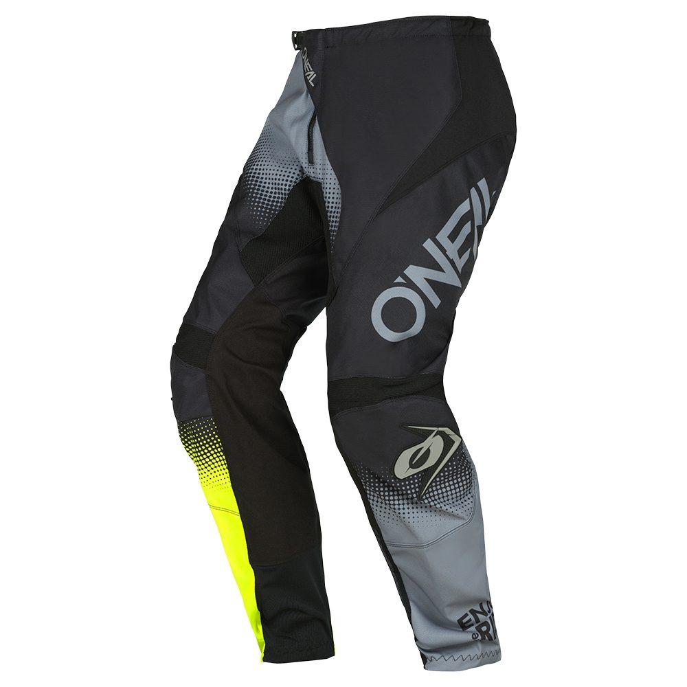 ONEAL Element Racewear V.22 MX Hose schwarz grau gelb