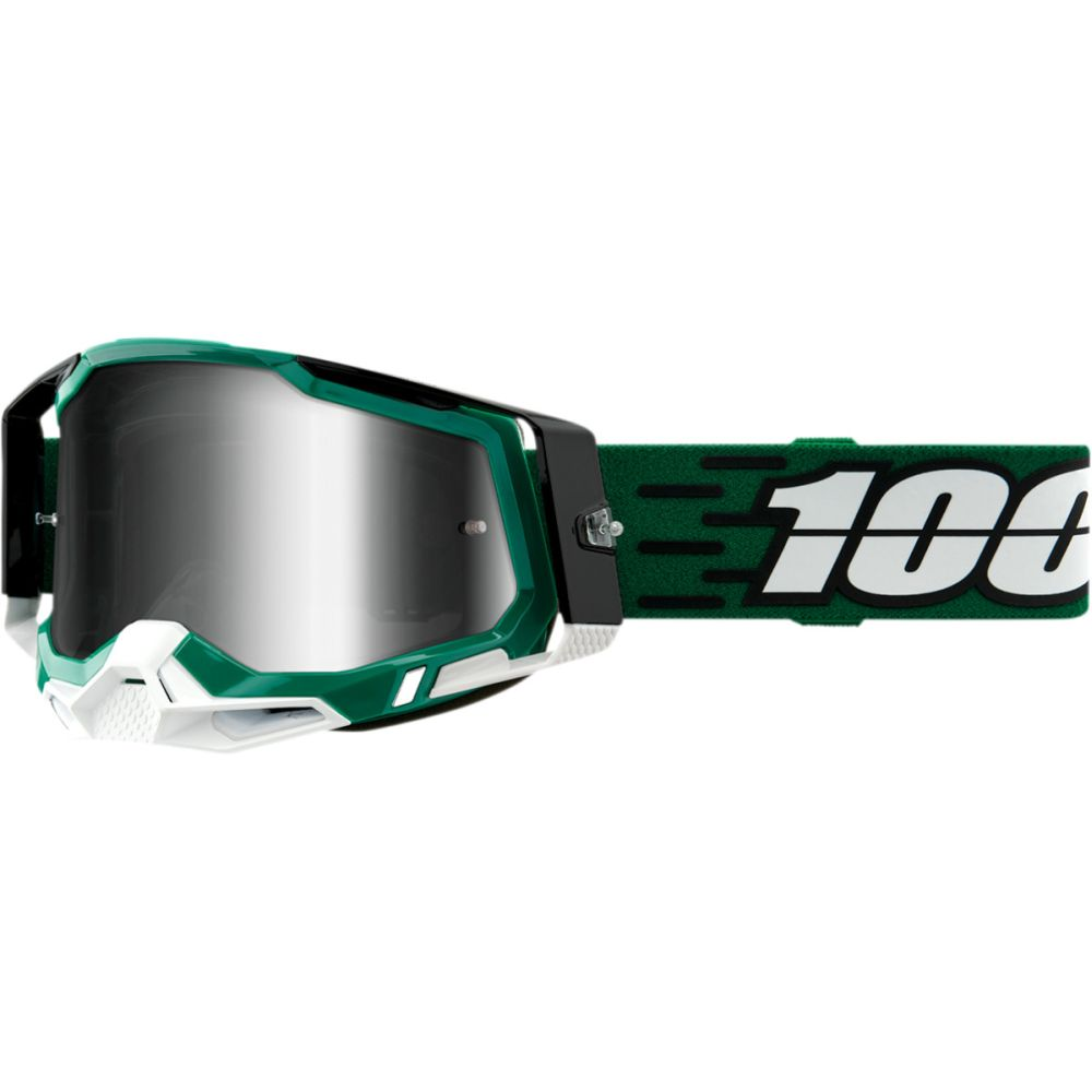 100% Racecraft 2 Milori MX MTB Brille silber verspiegelt