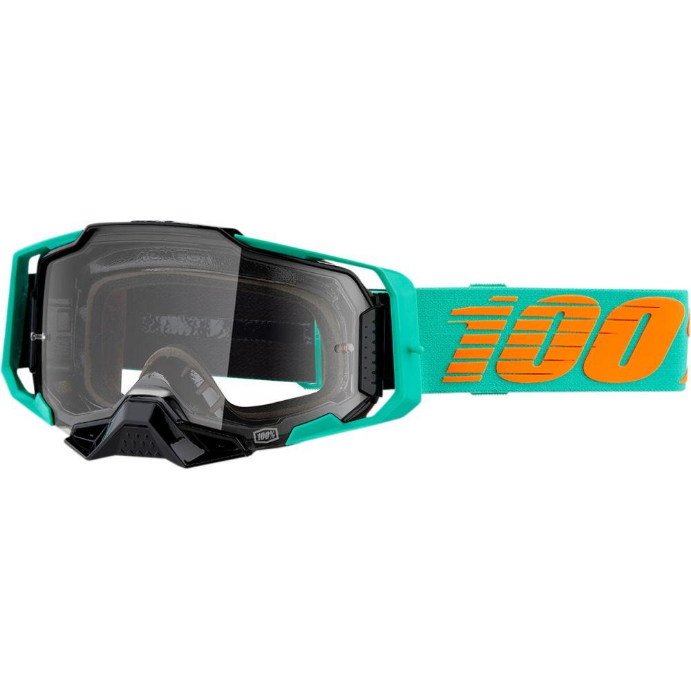 100% Armega Clark MX MTB Brille klar