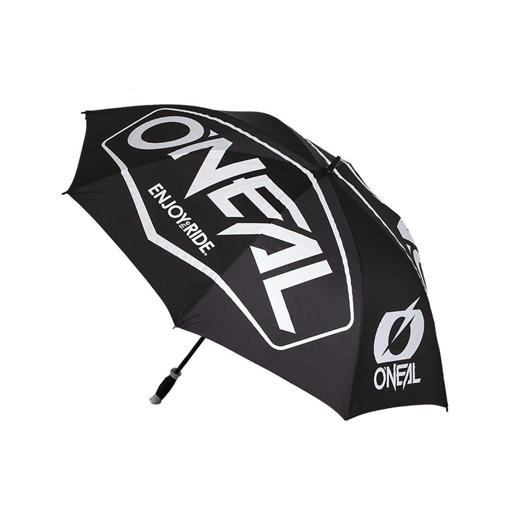 ONEAL Hexx Regenschirm schwarz weiss