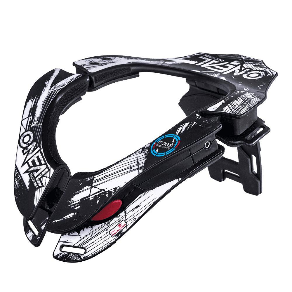 ONEAL Tron Shocker MX Neckbrace schwarz weiss