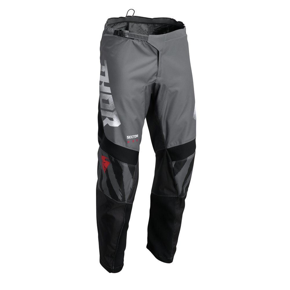 THOR Sector Tear Motocross Hose grau schwarz