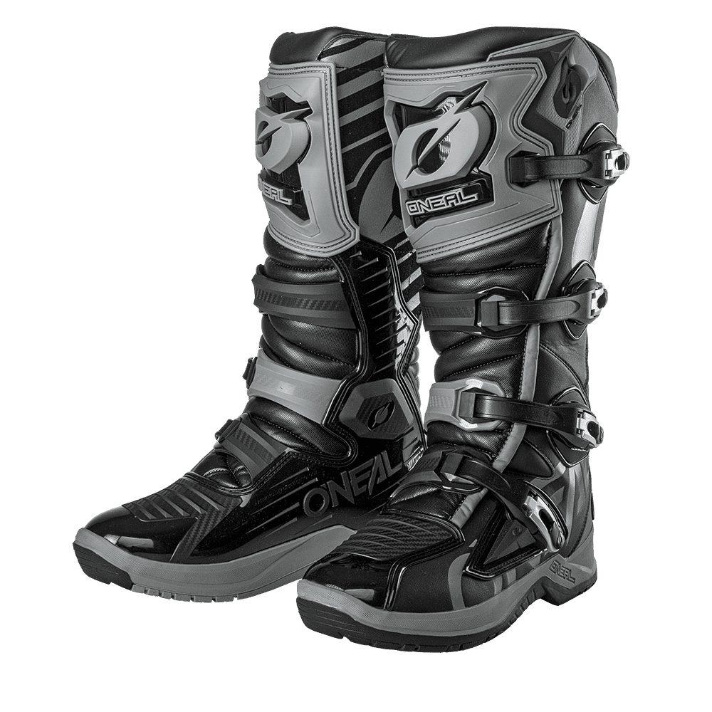 ONEAL RMX Boot EU Motocross Stiefel schwarz grau