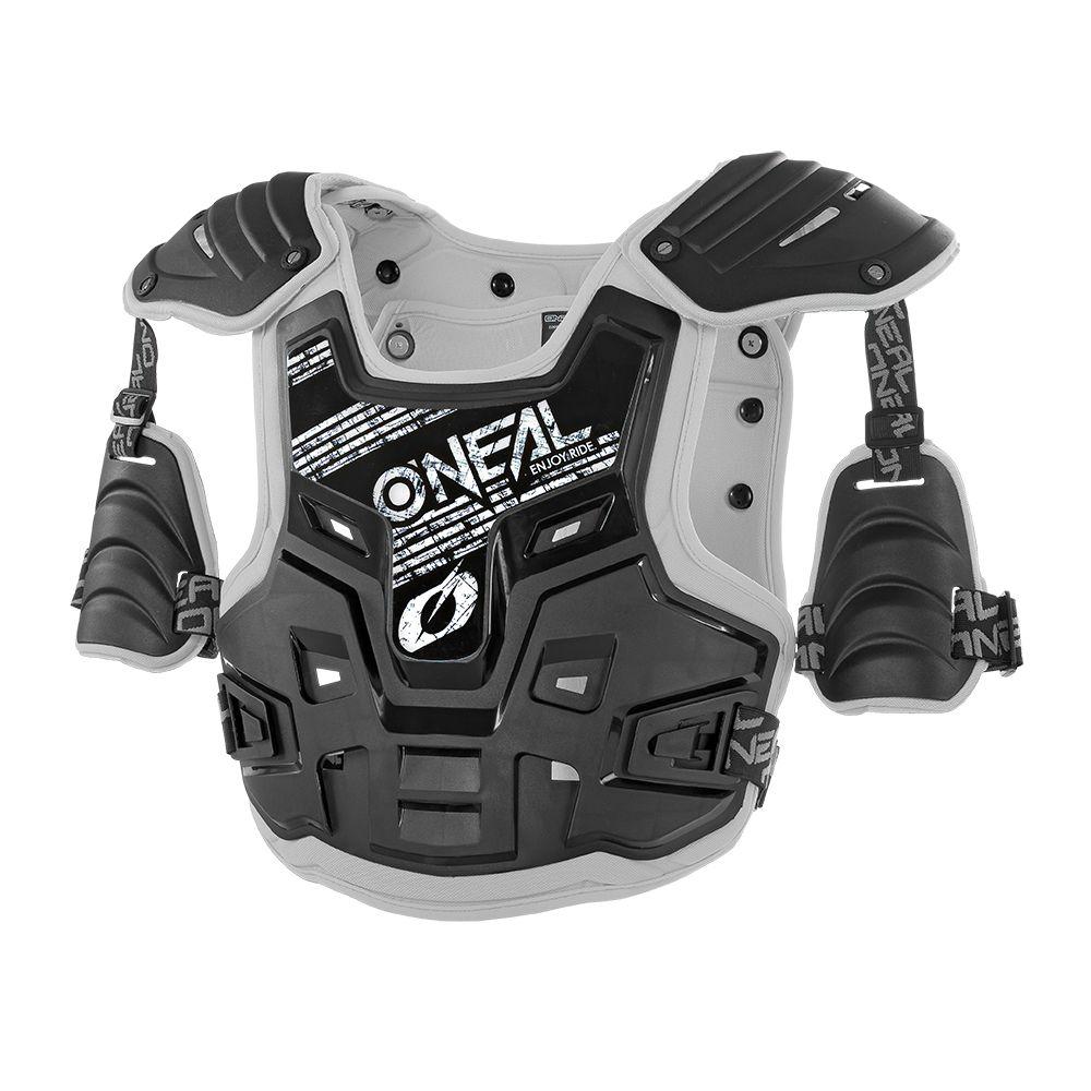 ONEAL PXR Stone Shield MX Brustpanzer schwarz grau