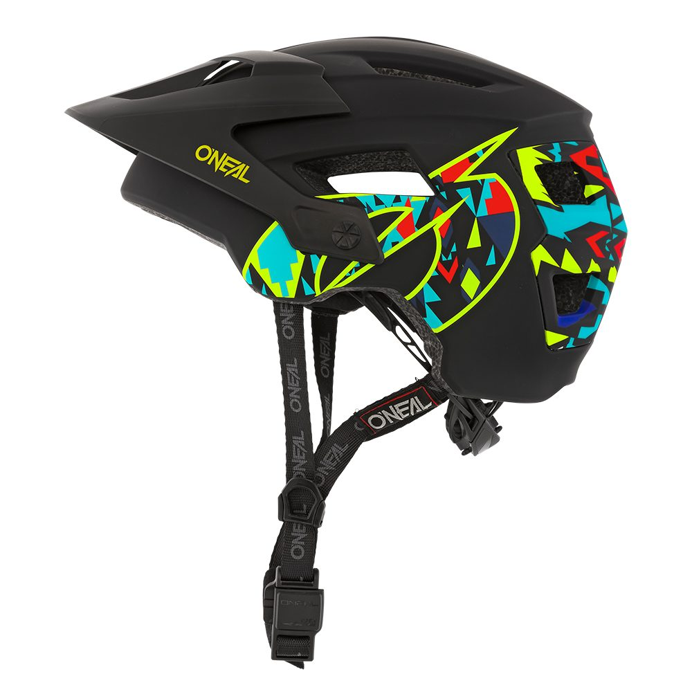 ONEAL Defender Muerta MTB Helm schwarz