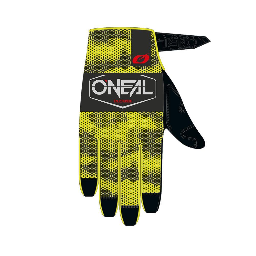 ONEAL Mayhem Covert Handschuh grau gelb