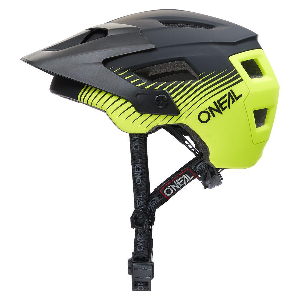 ONEAL Defender Grill V.22 MTB Helm schwarz gelb
