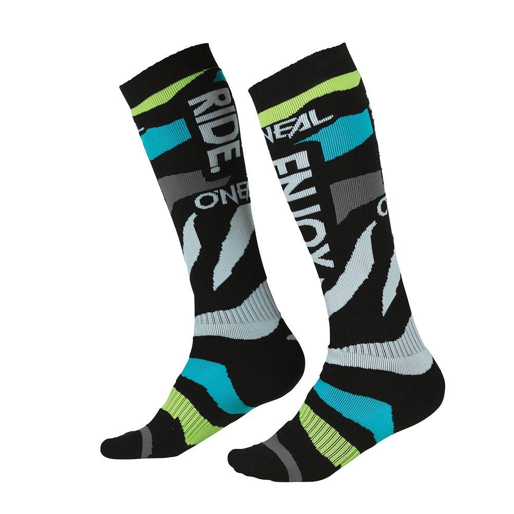 ONEAL PRO Zooneal V.22 MX Socken blau gelb