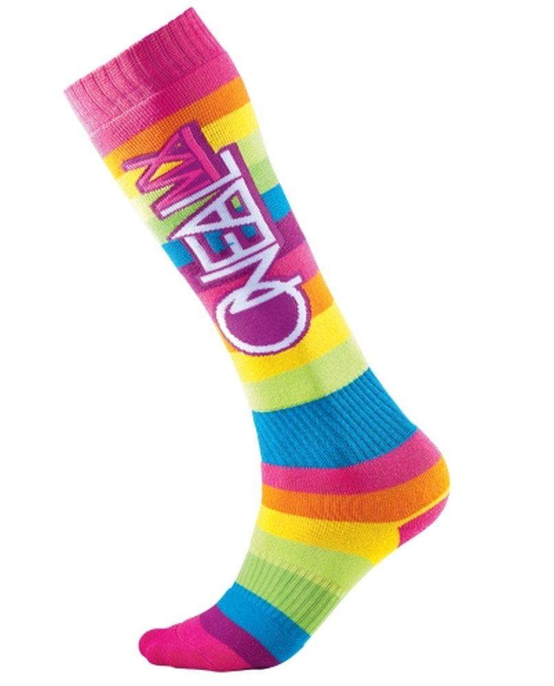 ONEAL PRO Rainbow MX Socken multi