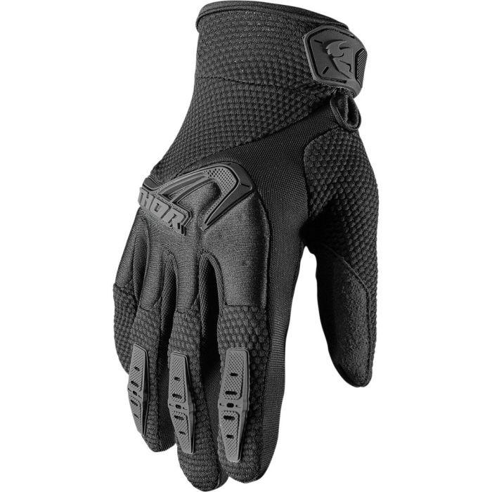 THOR Spectrum Women Frauen MX MTB Handschuhe schwarz