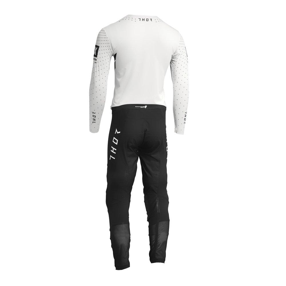 THOR Prime Hero Motocross Jersey schwarz weiss