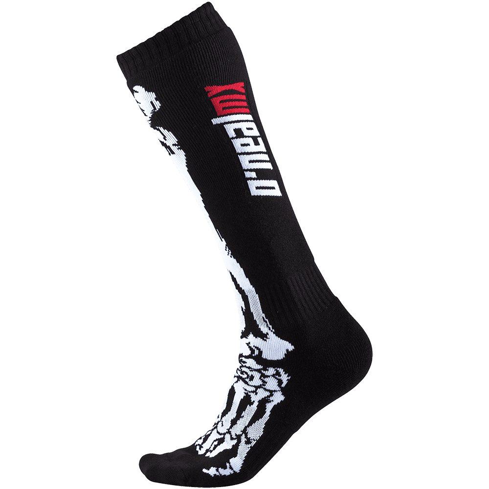 ONEAL PRO Youth XRAY MX Kinder Socken schwarz weiss