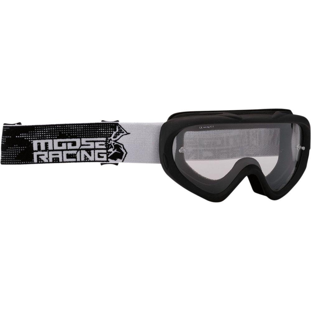 MOOSE Qualifier Youth Slash Kinder MX MTB Brille stealth schwarz