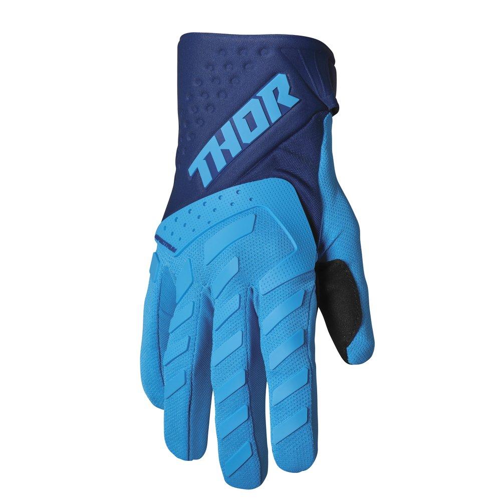THOR Spectrum Youth Kinder Motocross Handschuhe blau navy