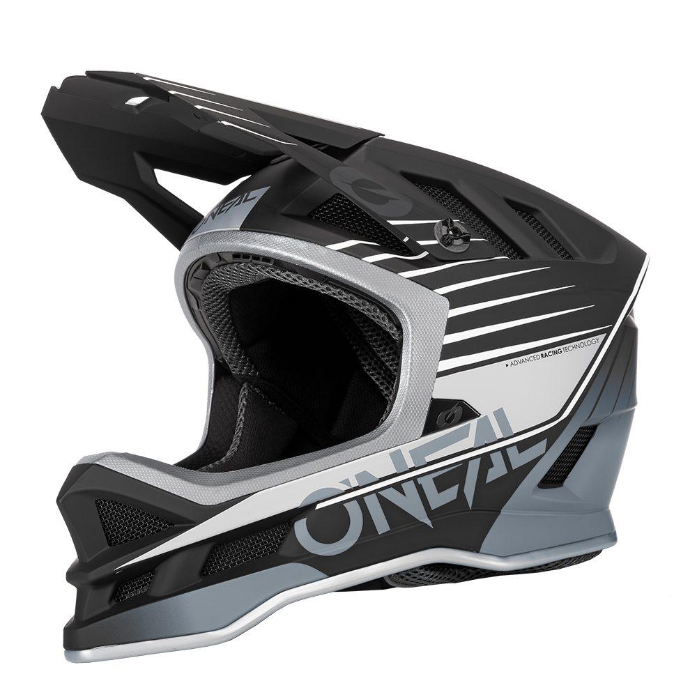 ONEAL Blade Polyacrylite Delta V.22 MTB Helm schwarz grau