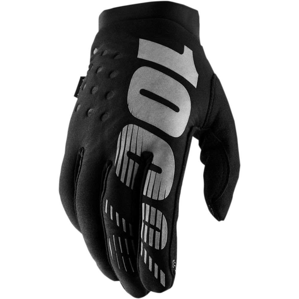100% Brisker Women MX MTB Damen Winter Handschuhe schwarz