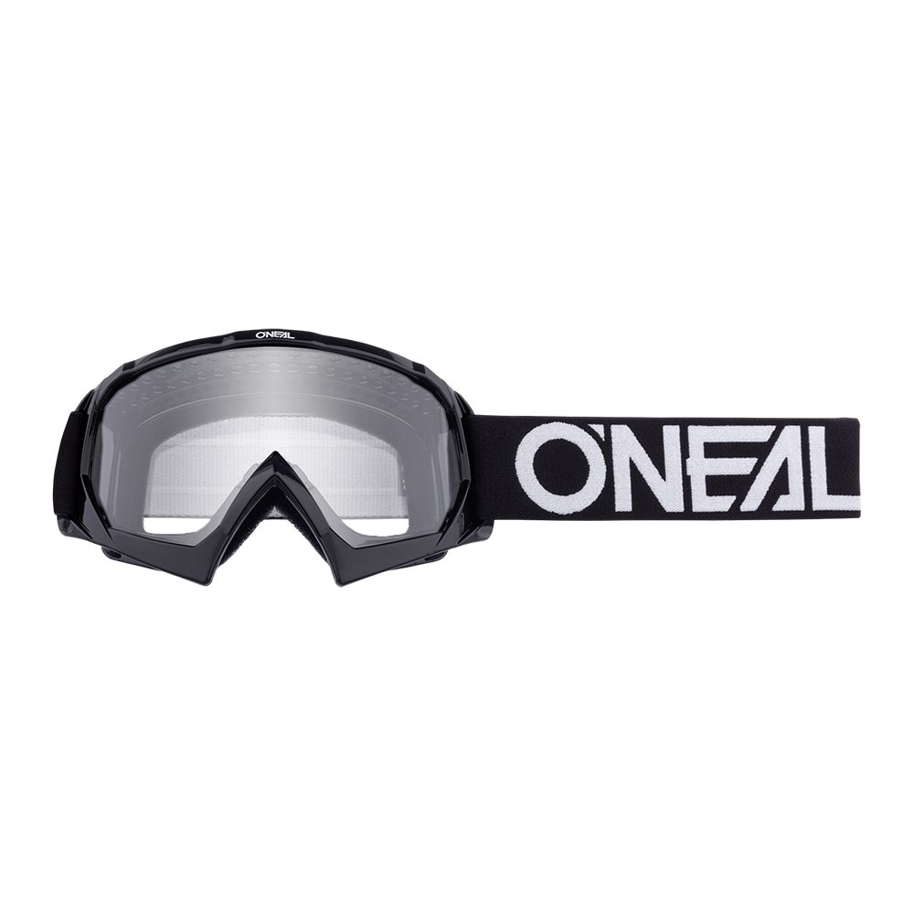 ONEAL B-10 Youth Solid MX MTB Kinder Brille schwarz weiss