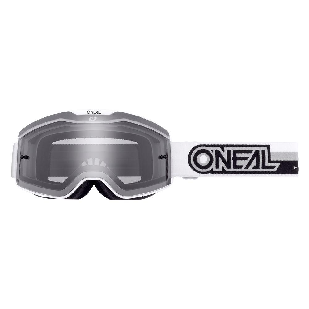 ONEAL B-20 Proxy MX MTB Brille weiss schwarz grau