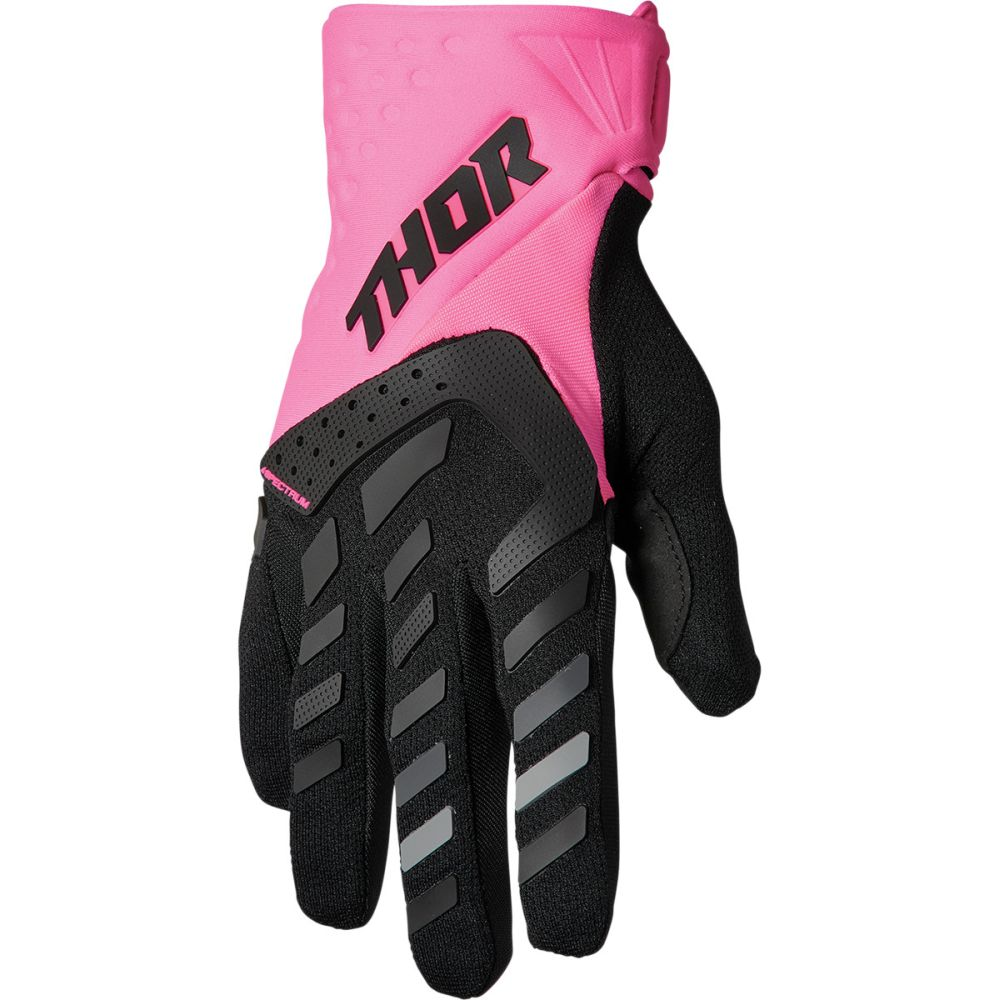 THOR Spectrum Women Frauen MX MTB Handschuhe pink schwarz