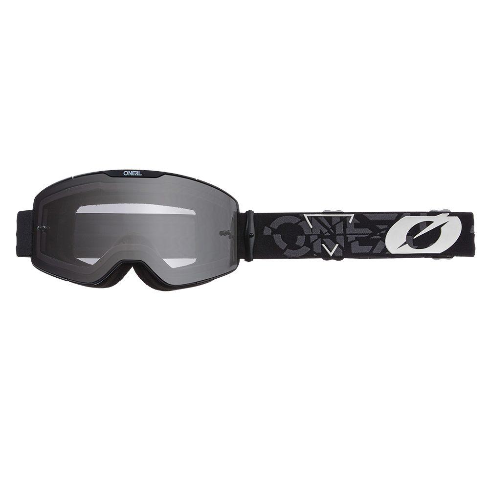 ONEAL B-20 Strain V.22 MX MTB Brille schwarz weiss