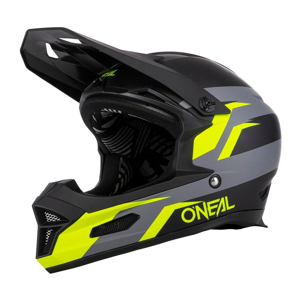 ONEAL Fury Stage MTB Helm schwarz gelb