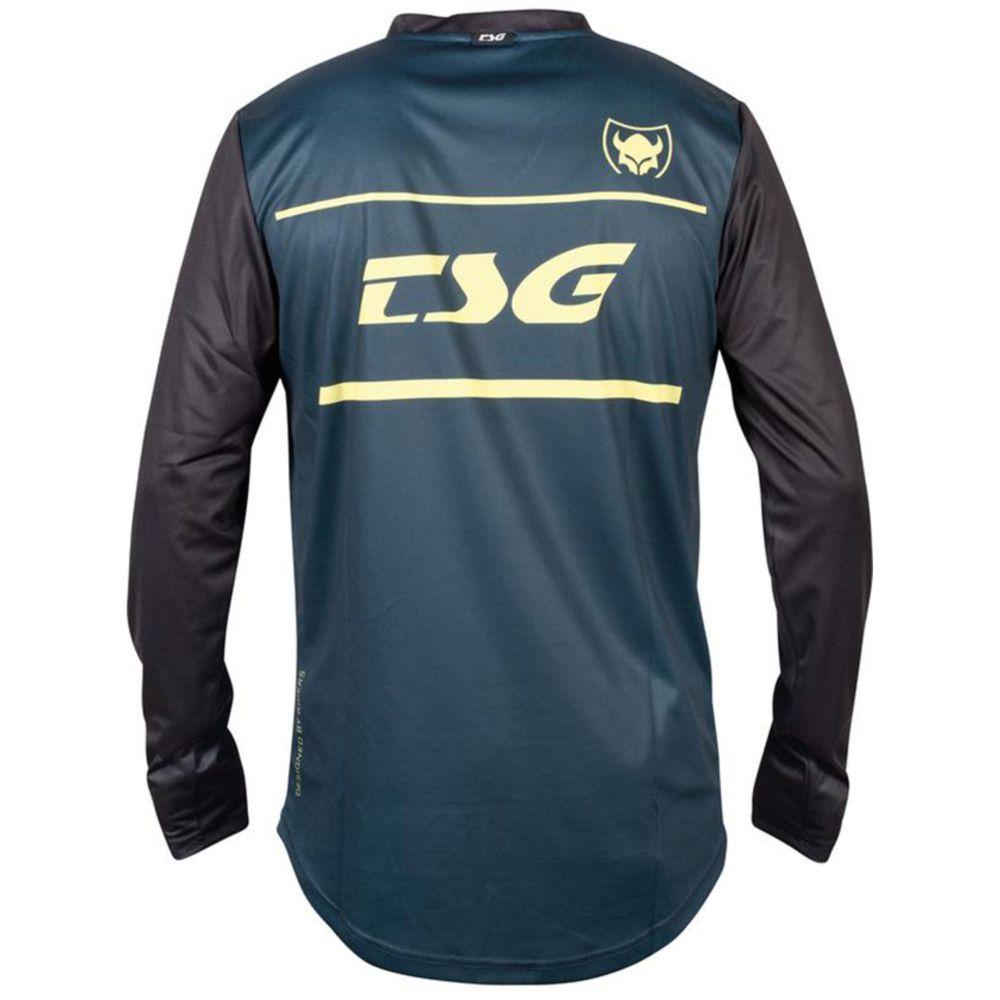 TSG Plain LS langärmliges MTB Jersey blau