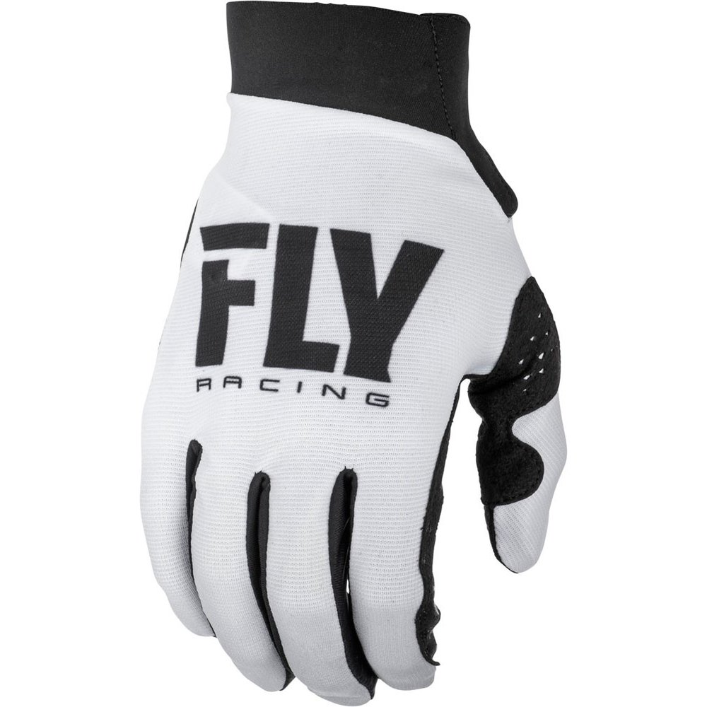 FLY Pro Lite Damen MX MTB Handschuhe weiss schwarz