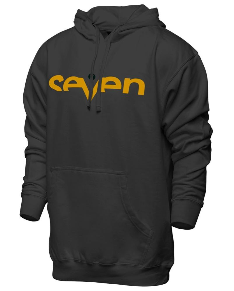 SEVEN Brand Kapuzen Pullover grau