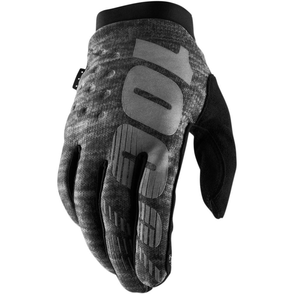 100% Brisker MX MTB Winter Handschuhe grau