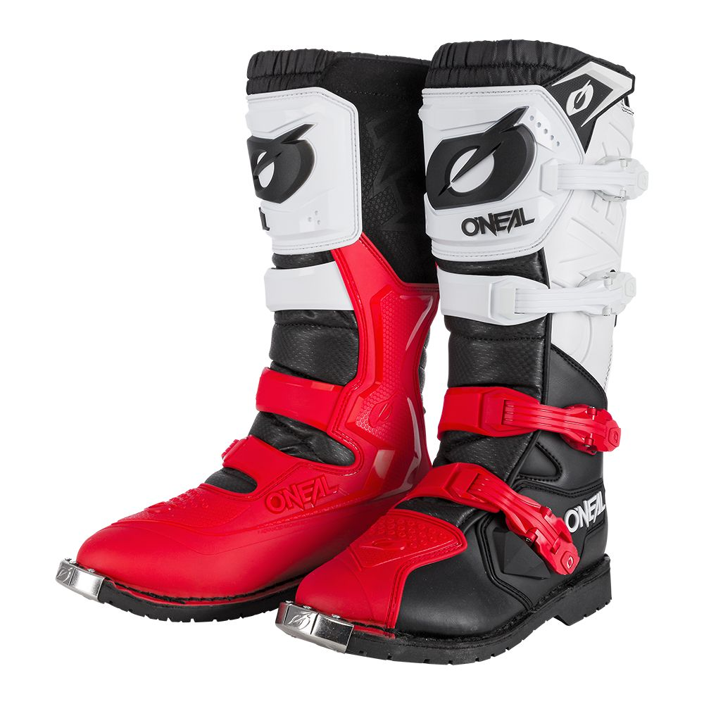 ONEAL Rider Pro Boot Motocross Stiefel schwarz weiss rot